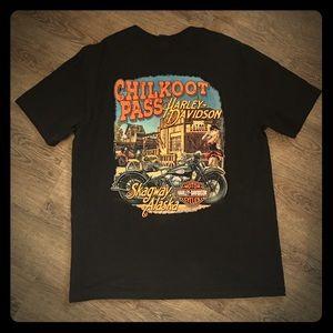 Hayley Davidson Chilkoot Pass Skagway T-Shirt